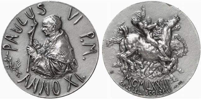 Paul VI (1963-78) Anno XI Silver Medal Photo