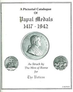 A Pictorial Catalogue of Papal Medals 1417-1940 Photo