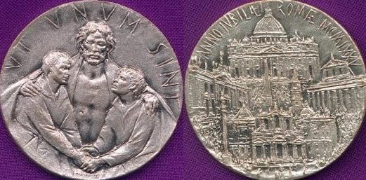 1975 Holy Year Pilgrim's Medal Photo