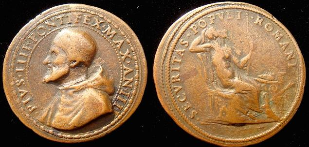 Pius IV (1559-65) Security of the Roman People Photo