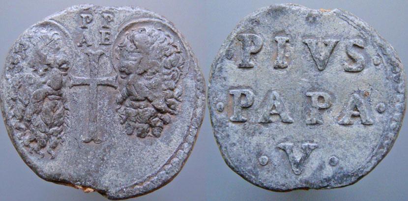 Pius V (1566-1572) Papal Seal Photo