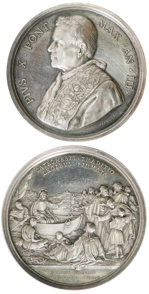Pius X (1903-14) A.III Teaching Christian Doctrine Photo