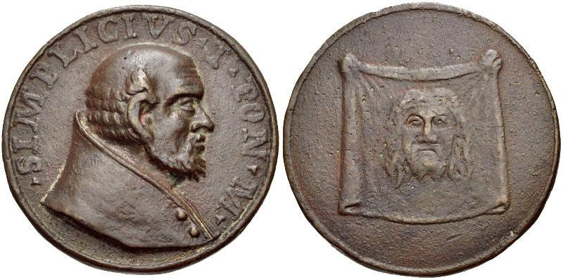 Pope St. Simplicius (468-83) Bronze Medal Photo
