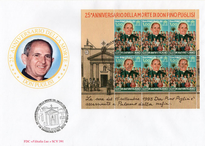 25th Anniversary Death of Fr. Pino Puglisi Cover Photo