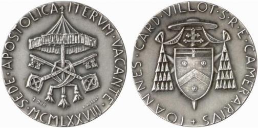 Sede Vacante 1978, September, Silver Medal Photo