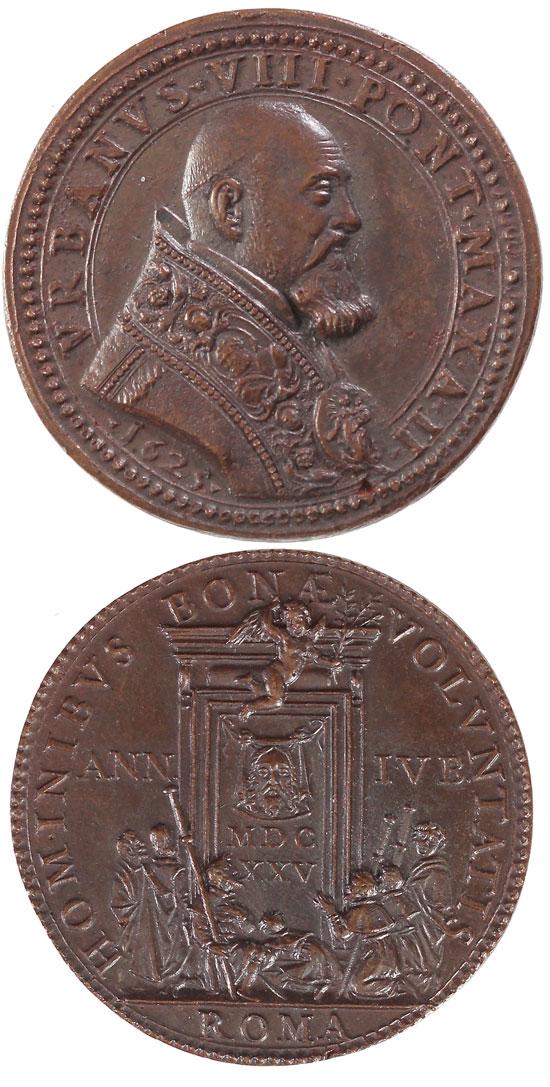 Urban VIII (1623-44) A.II 1625 Holy Year Photo