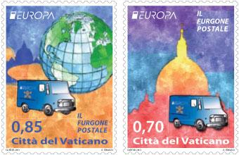 2013 Vatican Stamps Postal Service Photo