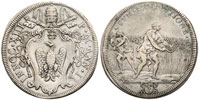 Innocent XIII (1721-4) Mezza Piastra Thumbnail