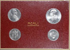 1951 Vatican Mint Coin Set, 4 Coins BU Thumbnail