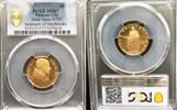 1956 Vatican 100 Lire Gold PCGS MS67 Thumbnail