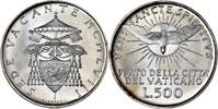 1958 Sede Vacante 500 Lire (Folder Variant) Thumbnail