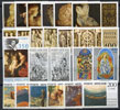 Vatican 1977 Stamp Year Set #607-29 Thumbnail