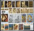 Vatican 1977 Stamp Year Set #607-29 Thumbnail