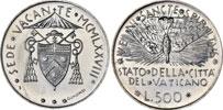 1978 Sede Vacante Silver Coin Thumbnail