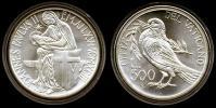 1993 Vatican 500L Commemorative PACEM IN TERRIS Thumbnail