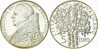 2005 Vatican 5 Euro Pope Benedict XVI Thumbnail