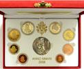 2008 Vatican Mint Set, 8 Euro Coins PROOF Thumbnail