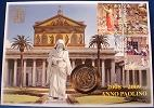 2008 Vatican 2 Euro Coin-Stamps CONVERSION OF PAUL Thumbnail