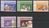 2011 Stamps: Journeys of Benedict XVI in 2010 Thumbnail