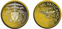 2013 Sede Vacante 10 Euro Gold Coin Thumbnail