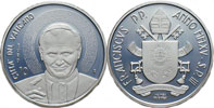 2015 Vatican 10 Euro Death of John Paul II Coin Thumbnail