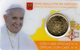 2017 Vatican Coin Card of Pope Francis Thumbnail