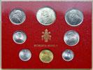 1967 Vatican Mint Coin Set, 8 Coins BU Thumbnail