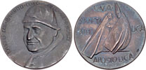 John XXIII 1962 Vatican II Silver Medal Thumbnail