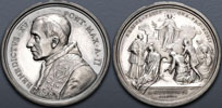 Benedict XV (1914-22) A.II Ag Regina Pacis Thumbnail