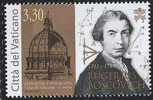 2011 Vatican Stamp of Rugerius Boscovich Thumbnail