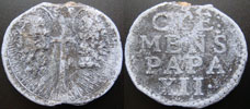 Clement XII (1730-1740) Papal Seal Thumbnail