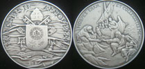 Pope Francis Anno V Silver Medal Thumbnail