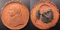 Gregory XVI (1831-46) A.VI Galvanic Copper Medal Thumbnail