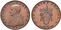 Paul VI (1963-78) Anno I Election Bronze Medal Thumbnail