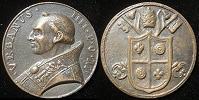 Urban IV (1261-4) Cast Bronze Medal Thumbnail
